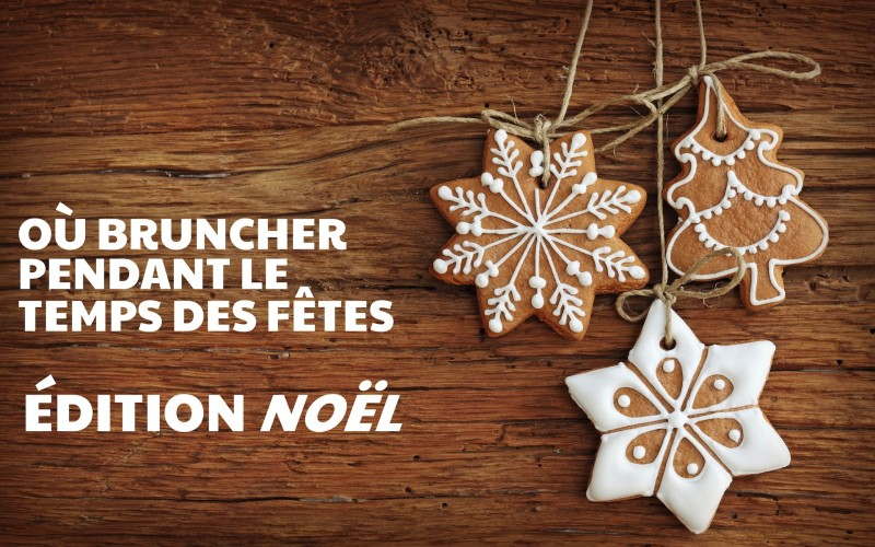 Suggestions brunchs – NOËL